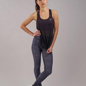 Gymshark Tops - Gymshark Breeze Vest Black Size Small